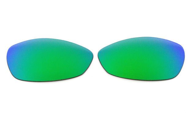 43ff6efbe7 NEW POLARIZED GREEN REPLACEMENT LENS FOR OAKLEY WIRETAP SUNGLASSES